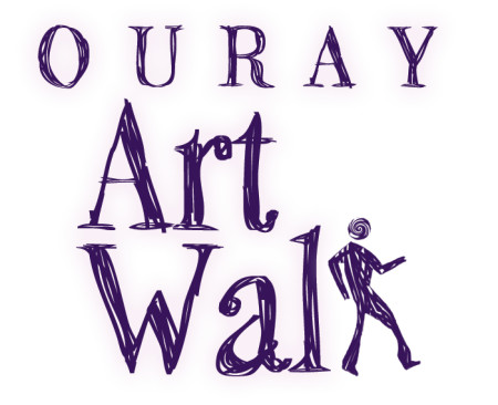 Ouray Art Walk Logo