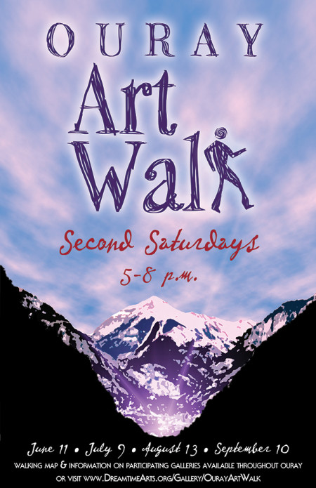 Ouray Art Walk Poster